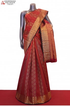 Designer & Exclusive MasterWeave Wedding Kanjeevaram Silk Saree