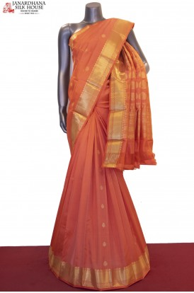 AF211224-Exclusive & Classic Handloom Pure South Silk Saree