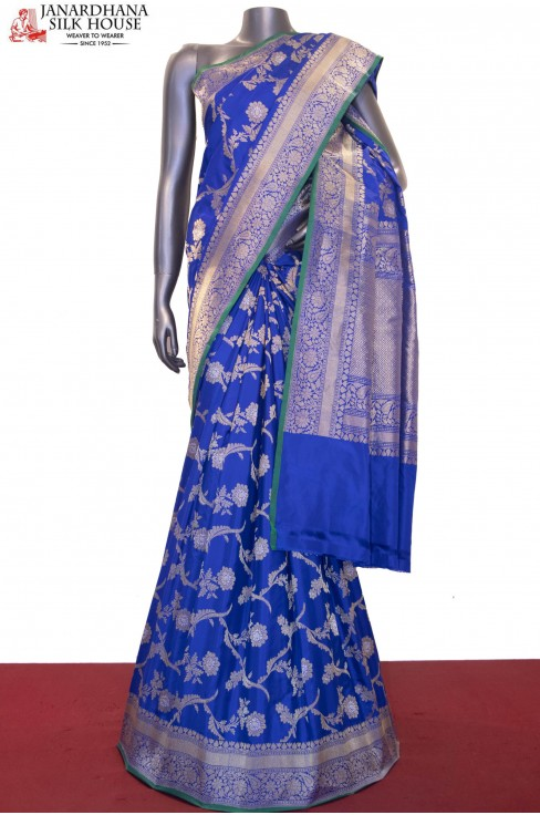 Exquisite & Designer Grand Banarasi Silk Saree-Master Weavers Collections