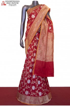 Exquisite & Designer Grand Banarasi Silk Saree-Master Weavers Collections