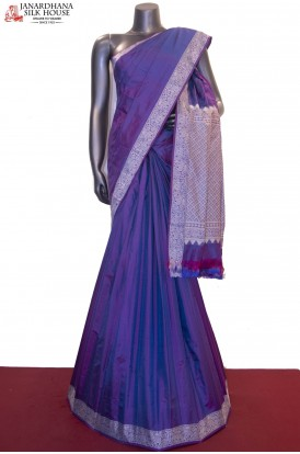 Exclusive Thread Weave Pure South Silk Saree