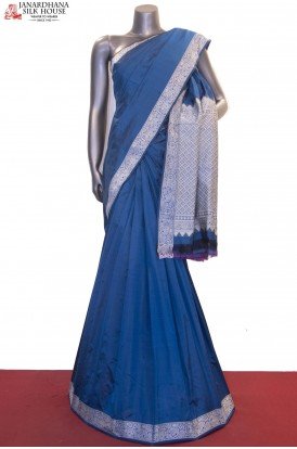 AF211628-Exclusive Thread Weave Pure South Silk Saree