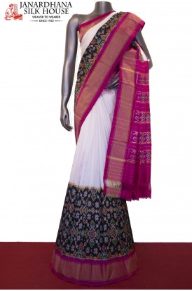 Designer & Exclusive Ikat handloom Pure Patola Silk Saree