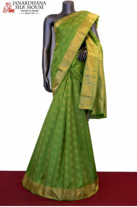 Floral Butta Classic Pure South Silk Saree