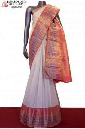 Designer & Exqusite Bridal Kanjeevaram Silk Saree
