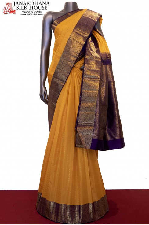 Bridal & Exclusive Jungle Zari Classics Kanjeevaram Silk Saree