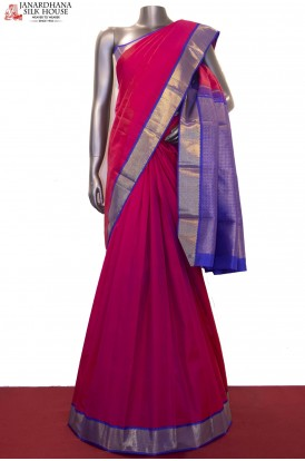 Pink Traditional Kanjivaram Silk Saree