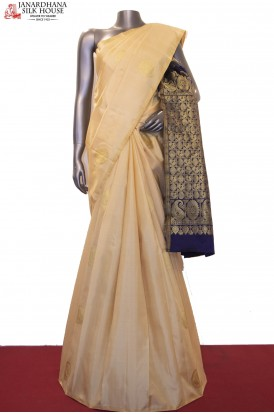 Exclusive & Contrast Kanjeevaram Silk Saree