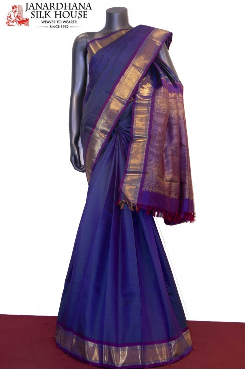 Handloom Classic Wedding Kanjeevaram Silk Saree