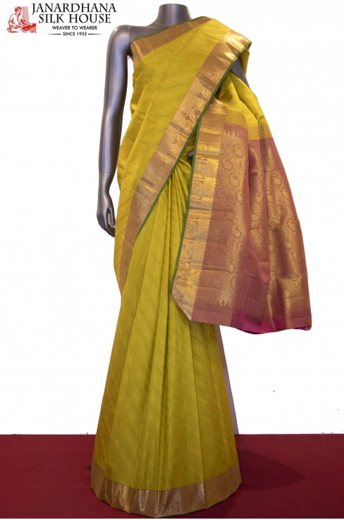Wedding Classic Handloom Kanjeevaram Silk Saree