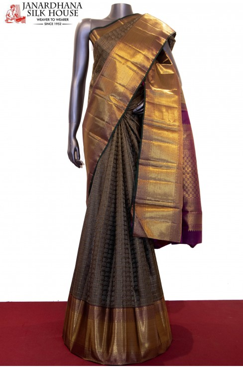 Exquisite Wedding  Kanjeevaram Silk Saree