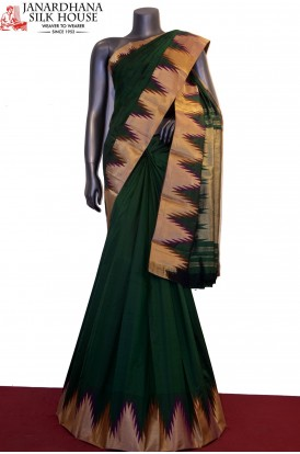 Exclusive & Grand Temple Pure South Silk Saree