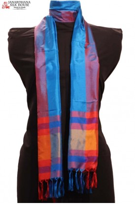 Exclusive Printed Pure Silk Stole