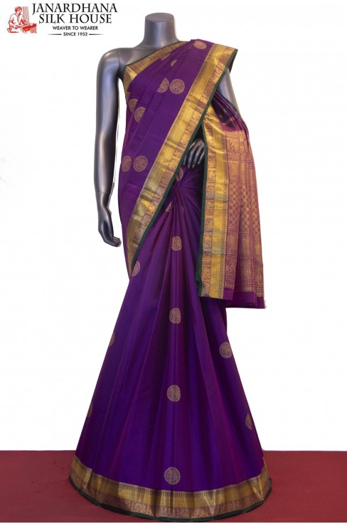 Traditional & Classic Wedding Kanjeevaram Silk Saree