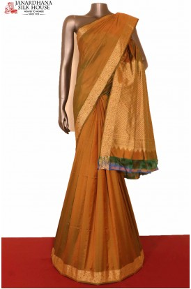 Exclusive Thread Weave South Silk Saree