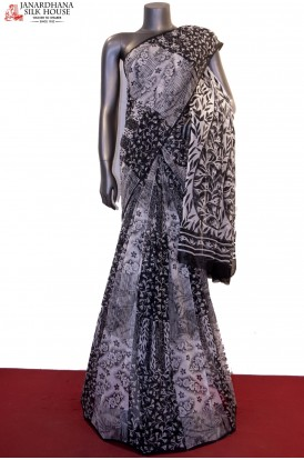 Designer & Exclusive Abstract Prints Pure Silk Chiffon