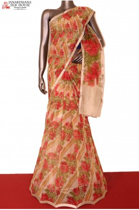 Floral Exclusive Finest Quality Pure Silk Chffion