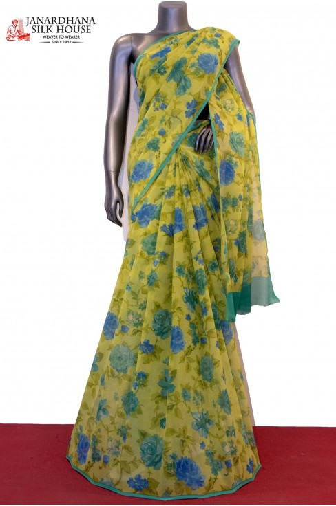 Floral Exclusive Pure Silk Chf..