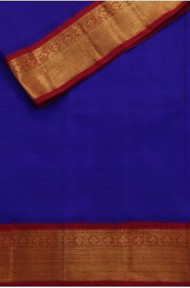 Pure Silk Pure Zari Kanjeevaram Silk Fabric