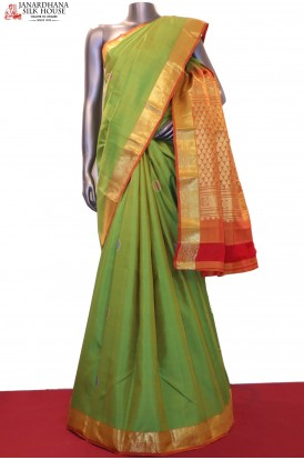 Wedding Classic Contrast & Traditional Kanjeevaram Silk Saree