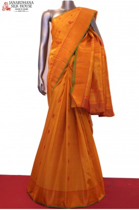 Thread Weave Exclusive & Traditional Kanjeevaram Silk Saree