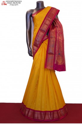 Exclusive Paithani & Meenakari Pure South Silk Saree