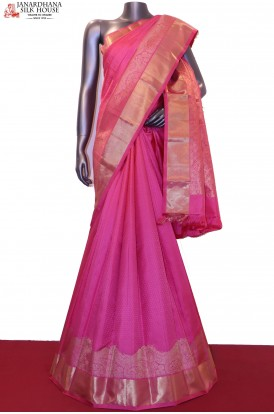 AG200511-Designer & Exclusive Kanjeevaram Silk Saree