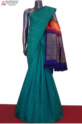 AG200662-Exclusive & Designer Pallu Wedding Kanjeevaram Silk Saree