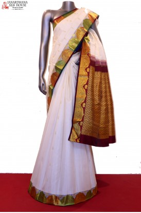 Traditional & Exclusive Kanjeevaram Silk Saree