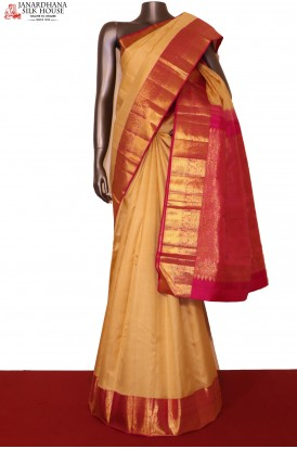 Traditional Wedding Kanjeevaram Silk Saree