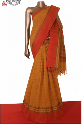 Handloom Pure Village Cotton Saree