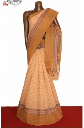 Handloom Pure Village Cotton Saree