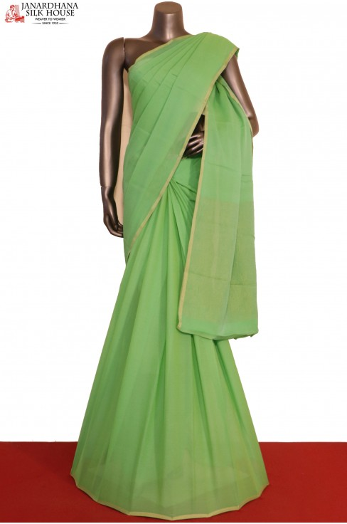 Party Wear Pure Silk Chiffon-Z..
