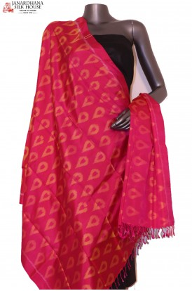Finest Quality & Exclusive Pure Silk Ikat Dupatta