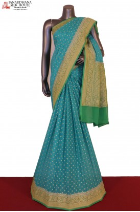 Exclusive & Grand Banarasi Georgette Silk Saree
