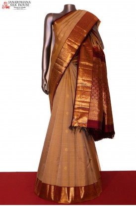 Traditional & Contrast Classic Wedding Kanjeevaram Silk Saree