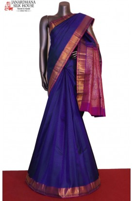 Traditional & Contrast Wedding Kanjeevaram Silk Saree