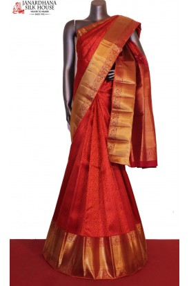 Master Weave Exclusive Wedding Kanjeevaram Silk Saree