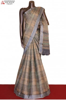 Exclusive Designer Printed Pure Crepe Silk Saree