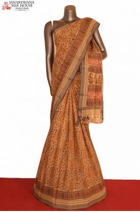 Exclusive Handloom Soft Pure Cotton Saree