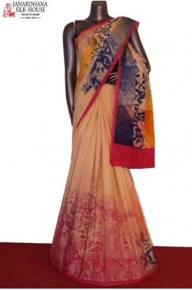 Designer & Exclusive Finest Quality Pure Crepe Silk Saree