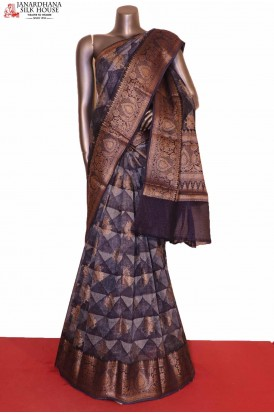 Handloom Pure Chanderi Cotton Saree