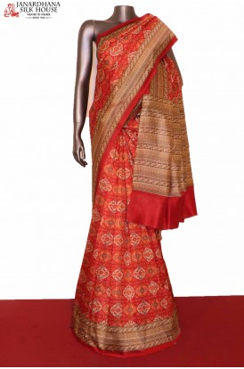 Exclusive Printed Pure Silk Saree
