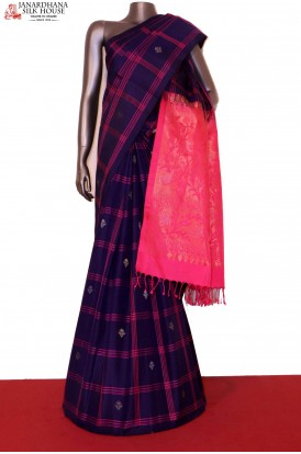 Designer Handloom Exclusive Pure Soft Silk Saree
