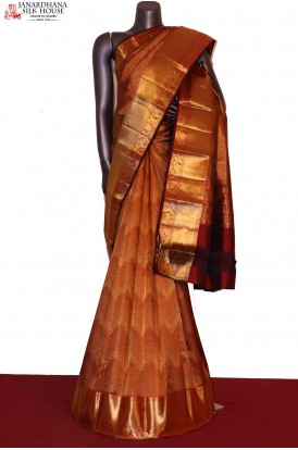 AG203968-Grand & Exclusive Wedding Handloom Kanjeevaram Silk Saree
