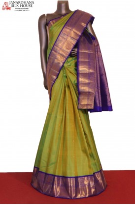 Grand & Traditional Wedding Kanjeevaram Silk Saree