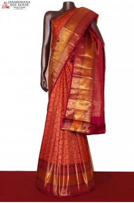 Designer & Grand Wedding Handloom Kanjeevaram Silk Saree