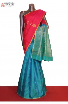 Patli Exclusive Wedding Handloom Kanjeevaram Silk Saree