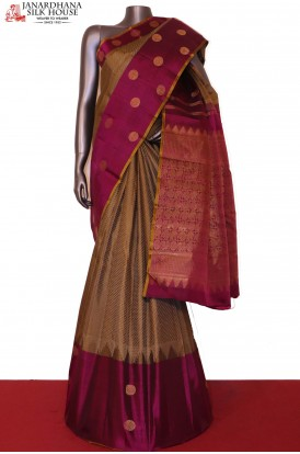 Chakram & Exclusive Wedding Kanjeevaram Silk Saree