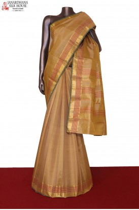 Traditional & Contrast Wedding Handloom Kanjeevaram Silk Saree